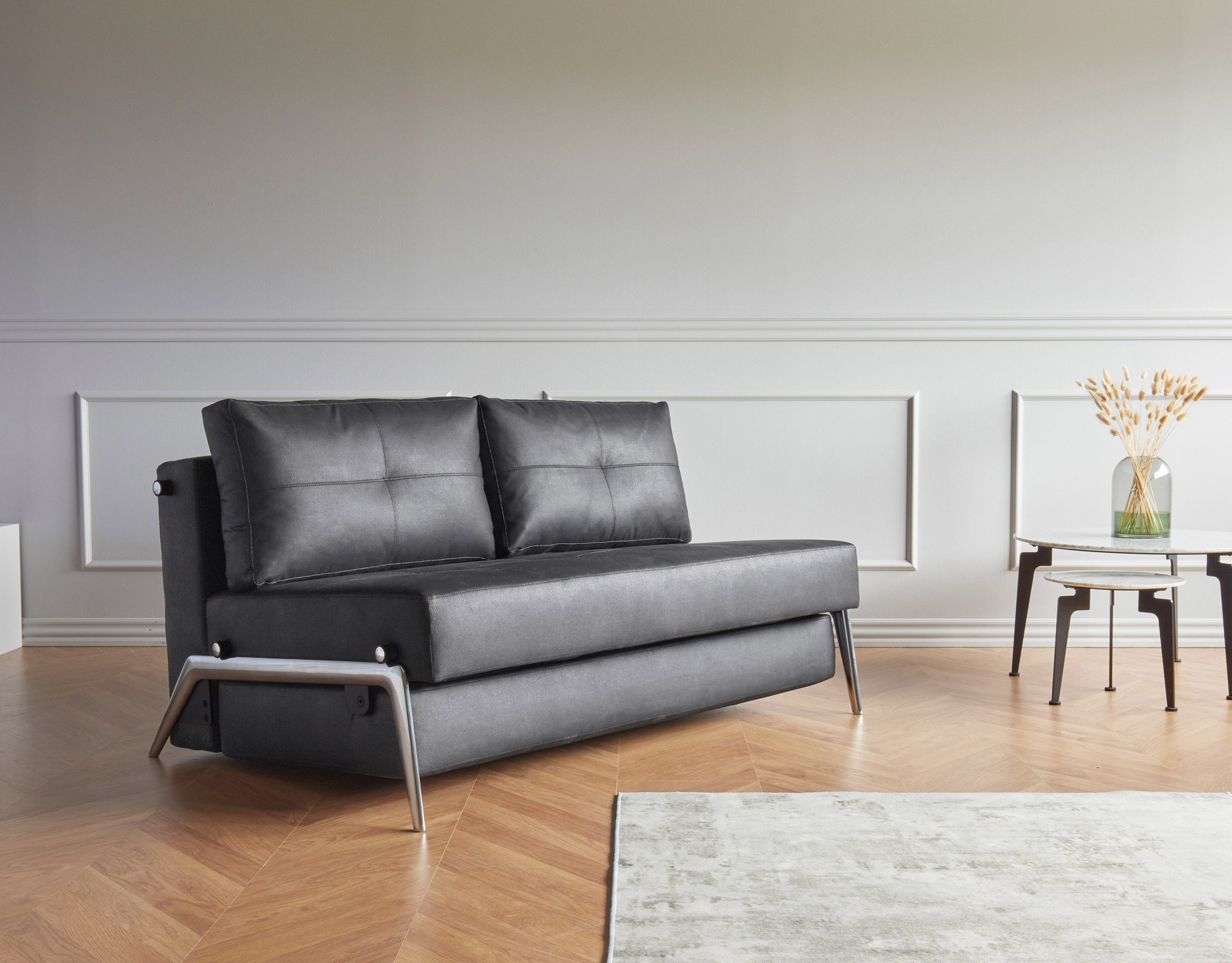 Cubed 160 Alu Sofa Bed